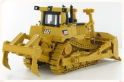 scale model of a Catepiller bull-dozer