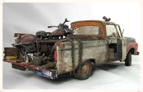 scale model of a pickup truck