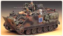 scale model of a VietNam-era battle tank